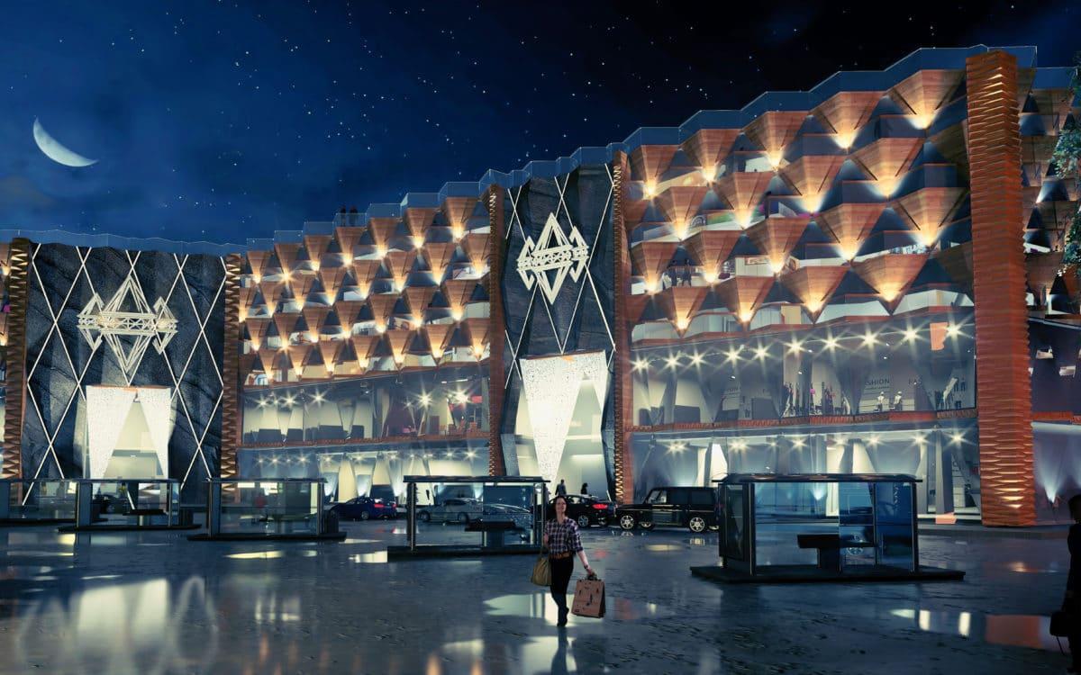 Zakopane Shopping Mall Concept
